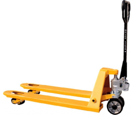 Pushing Forklift