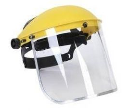 Face Shield C/W LINER(YELLOW)